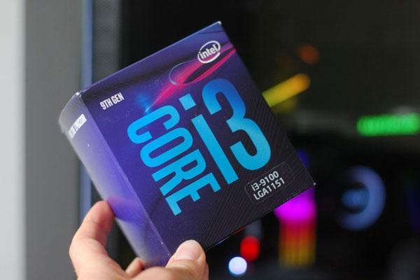 CPU Core i3 9100