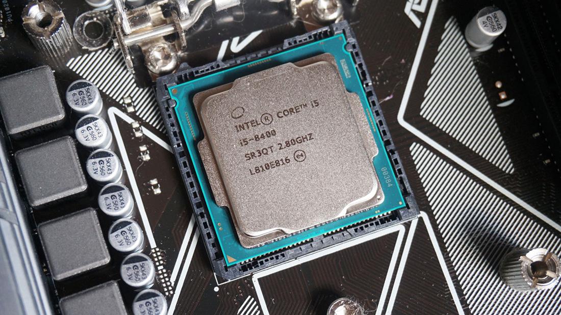 CPU Core i5 8400