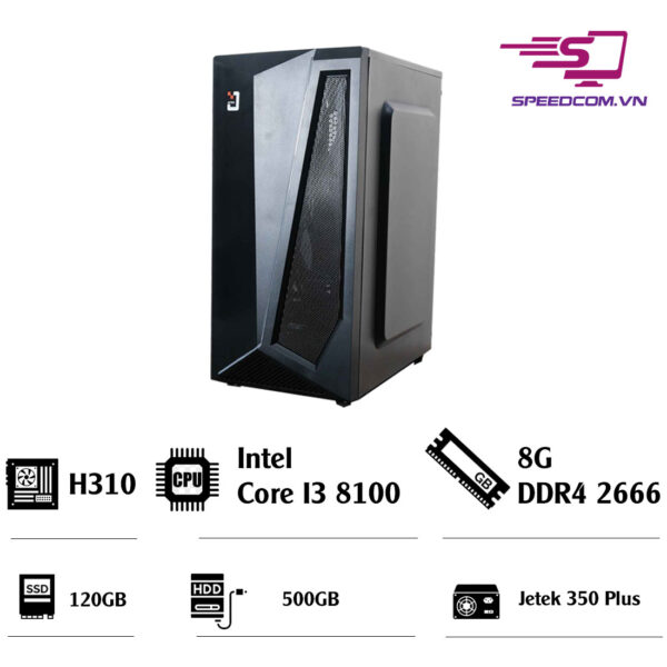 PC-văn-phòng-Main-H310---CPU-I3-8100---Ram-8G