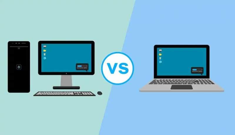 Chọn laptop hay PC