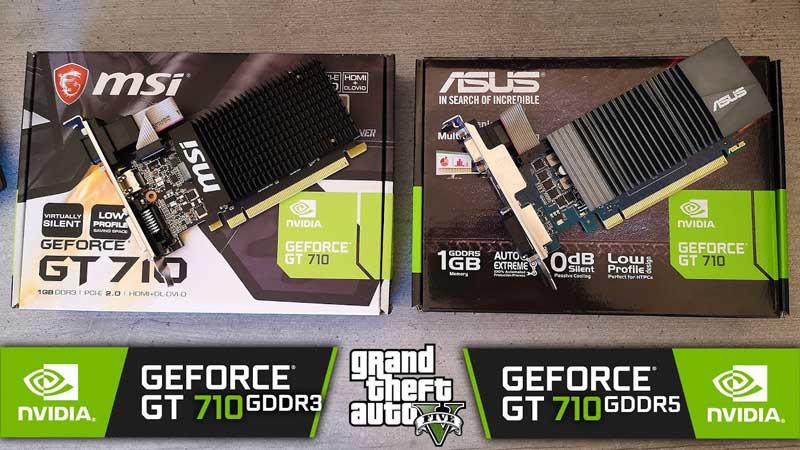 GT-710 Card màn hình giá rẻ chơi LOL