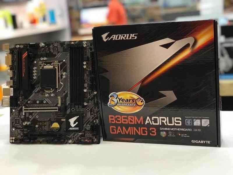 Main Gigabyte B360M Aorus Gaming 3